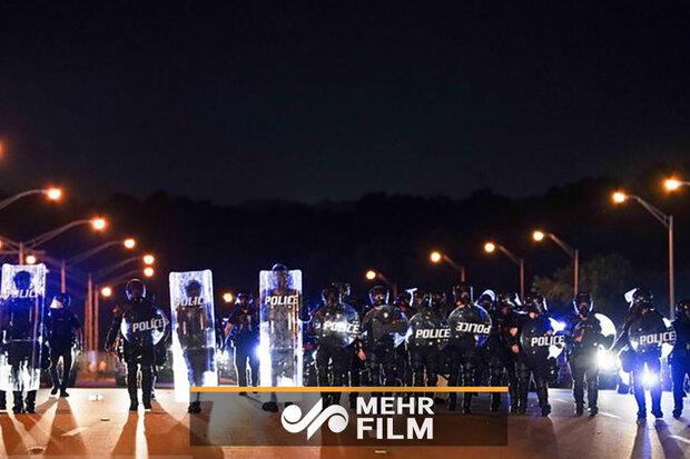 امریکہ کے شہر پورٹ لینڈ میں پر تشدد مظاہرے