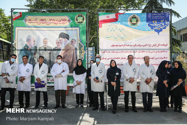 Army hails medical staff efforts, service under Covid-19 pandemic