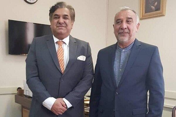 Iran, Pakistan discuss Afghanistan peace process