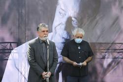 تہران میں مرحوم  محمد علی کشاورز کی تشییع جنازہ