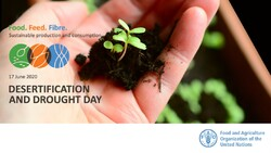 FAO celebrates world day to combat desertification and drought 2020