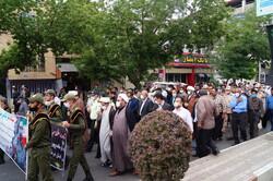 پیکر مرزبان شهید «علی خلیلی» در قروه به خاک سپرده شد