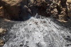 آتش سوزی جنگل های آبشار یاسوج مهار شد/ بلوط هایی که خاکستر شدند