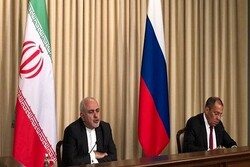 Iran, Russia determined to deal with unilateral, illegal US approaches: Zarif
