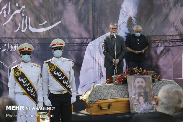 Mehr News Agency - Funeral ceremony for veteran Iranian actor Keshavarz