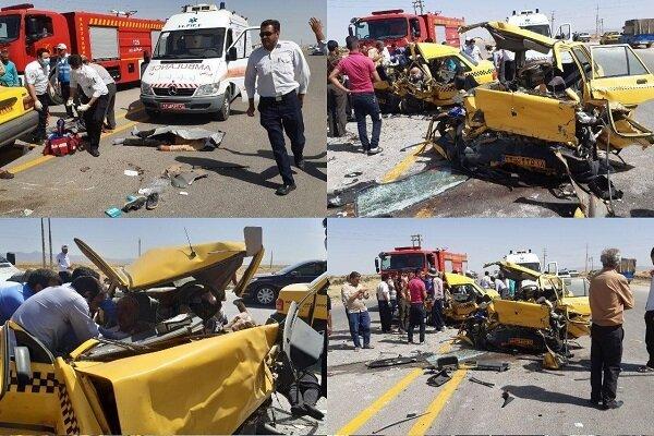 ہمدان میں ٹریفک حادثے میں 10 افراد جاں بحق اور زخمی