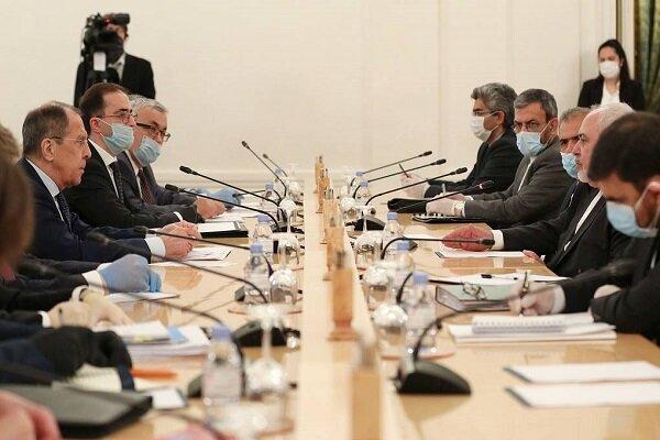 ایران اور روس کے وزراء خارجہ کی ماسکو میں ملاقات