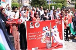 نشطاء فلسطينيون يطلقون حملة لمقاطعة بضائع الاحتلال الصهيوني في غزة