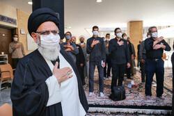 یزد میں حضرت امام جعفر صادق کی شہادت کی مناسبت سے عزاداری
