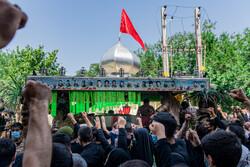 تشییع پیکر شهید مدافع حرم «جواد الله کرم»
