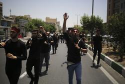 تہران میں حضرت امام جعفر صادق(س) کی شہادت کی مناسبت سے جلوس عزا برآمد