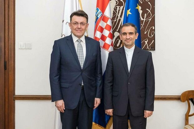 Croatia expresses tendency for development of all-out ties with Iran