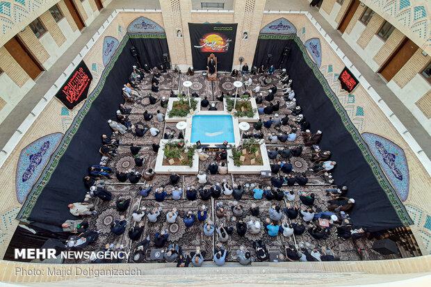 مراسم عزاداری شهادت امام جعفرصادق(ع) در یزد