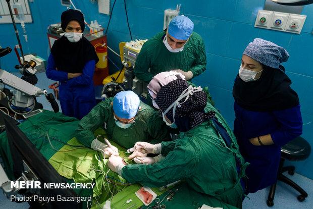 نخستین جراحی کاشت حلزون شنوایی در شمال کشور