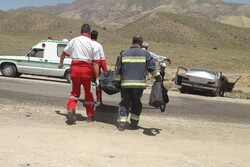 تصادف در محور شاهرود- گرگان ۲ کشته برجای گذاشت