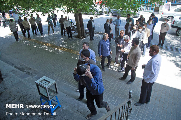 Friday Prayers held in Ardabil after four months
