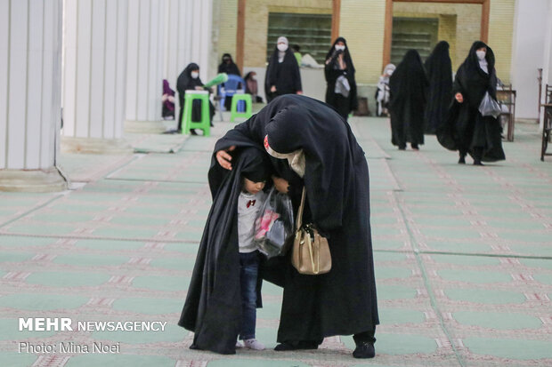 Friday prayers in Tabriz after four-month hiatus by observing health protocols