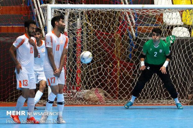 Final match of Iran's futsal league held after months of postponement