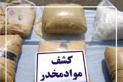 Over 200 kg of illicit drug seized in SW Iran