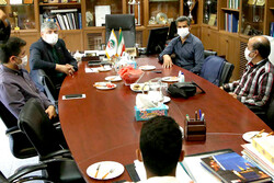 نشست رئیس فدراسیون با کادر فنی و ملیپوشان تکواندو برگزار شد