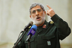 Ghaani vows to stand by Palestinian resistance movement like martyr Soleimani