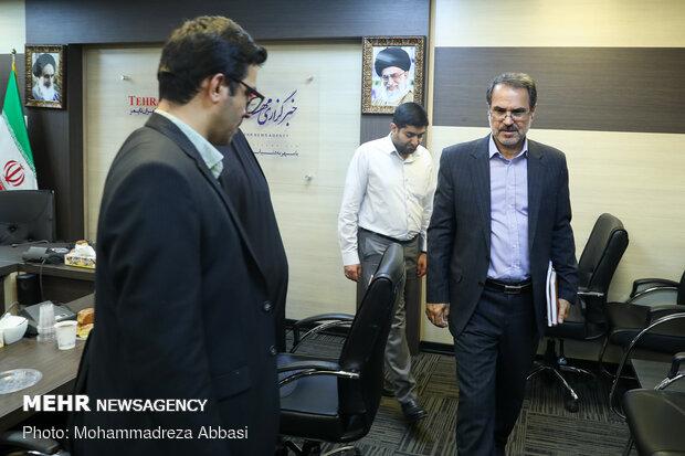 بازدید معاون رئیس قوه قضائیه و رئیس سازمان ثبت اسناد و املاک کشور از خبرگزاری مهر