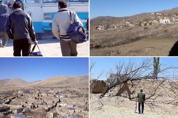 ۱۷۰۰ روستا از سکنه خالی شد/ دولت طرحی برای نجات روستاها ندارد