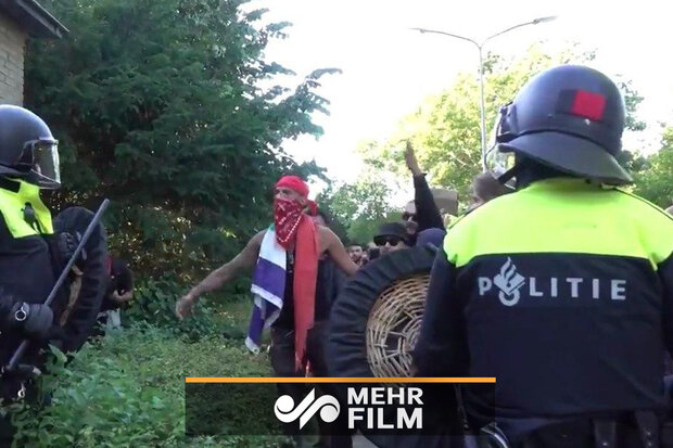 VIDEO: Anti-racism protests in the Netherlands