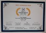 انیمیشن حوزه هنری اثر برگزیده جشنواره بین المللی فیلم هند۲۰۲۰ شد
