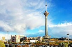 برج میلاد به رنگ پرچم ایران درآمد