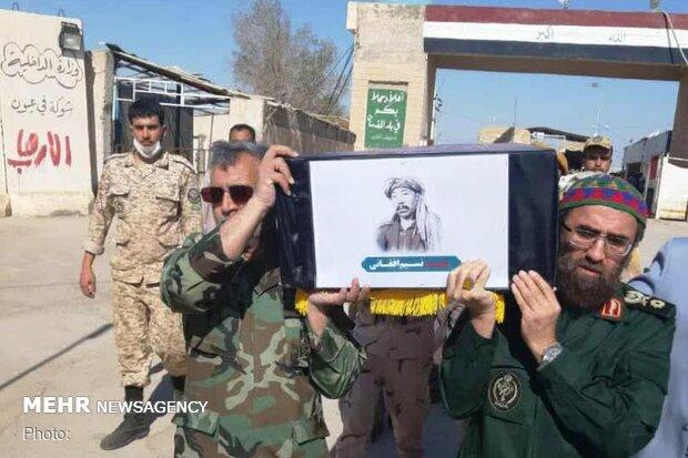 پیکر ۱۹۲ شهید دفاع مقدس وارد کشور شد/ شهید افغان در میان شهدا