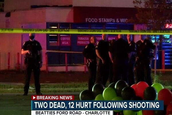 US shooting leaves 2 dead, 12 injured in North Carolina