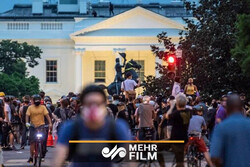 VIDEO: Protests near White House