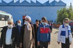 دادستان کل کشور از شرکت واگن سازی تهران بازدید کرد
