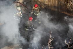 آتش سوزی در طبقه منهای ۲ کلینیکی در خیابان شریعتی/ مردم از اجتماع در محل انفجار پرهیز کنند