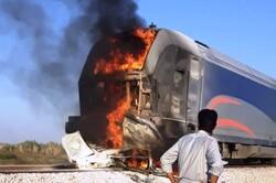 تصادف پژو و قطار لکوموتیوران را نیز مصدوم کرد