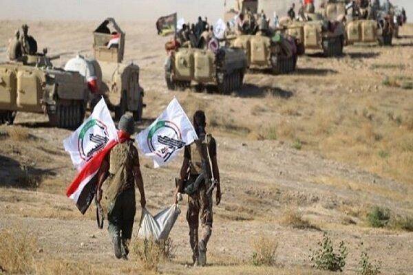 الحشد الشعبي يعثر على معمل متفجرات تابع لداعش شرق صلاح الدين