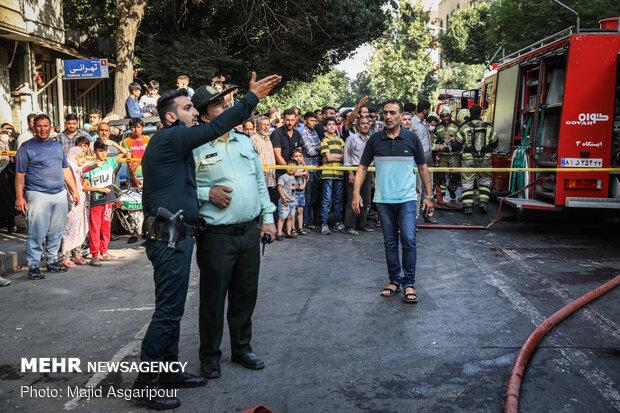 انفجار و آتشسوزی در کارگاه شارژ سیلندرهای گاز