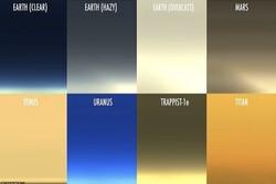غروب آفتاب را در ۴ سیاره منظومه شمسی ببینید