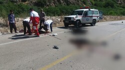 برخورد موتور و پیکان وانت در گلستان یک کشته و ۲ مصدوم برجای گذاشت