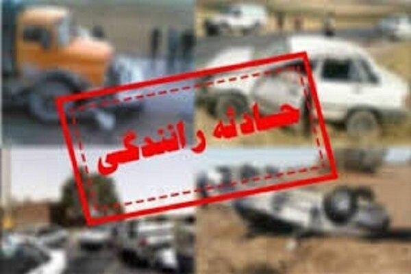 ۲ سانحه رانندگی در خوزستان ۱۱ مصدوم داشت