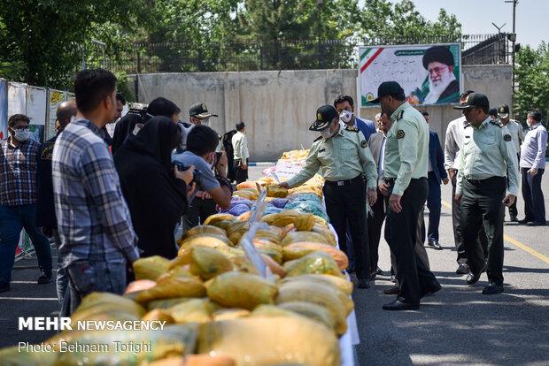 الشرطة الإيرانية تضبط نحو 4 أطنان ونصف من المخدرات في جنوب شرق البلاد