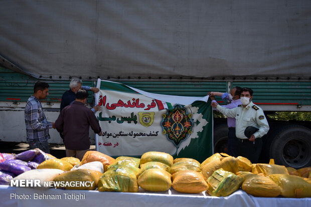 Iranian police bust over 16 tons of narcotics in a week: official