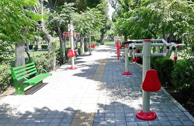 تجهیز ۷ بوستان جنوب شهر به ست ورزشی ویژه معلولین