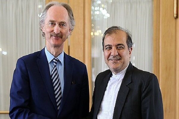 Senior Iranian FM assistant, UN special envoy for Syria hold phone talks