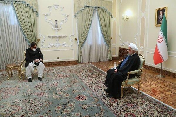 ایران اور پاکستان کے تعلقات برادرانہ اور دوستانہ ہیں