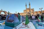 تشییع پیکر جانباز شهید «علیاکبر عربی» در یزد