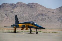 İran'ın yerli yapımı savaş uçağı orduya teslim edildi
