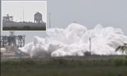 موشک آزمایشی «استارشیپ» دوباره منفجر شد