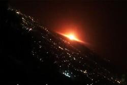تہران کے پارچین علاقہ میں صنعتی گيس ٹینک میں دھماکہ/ کوئی جانی نقصان نہیں ہوا